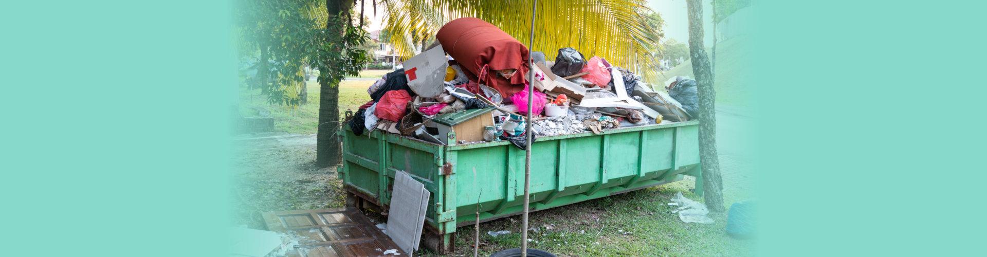 dumpster bin